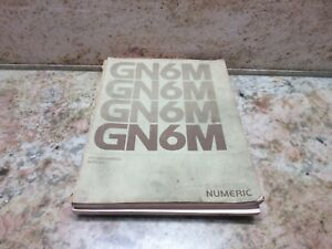 General Numeric Programming Manual Cnc Gn6m Powermatic Burke Cnc3md J Mill