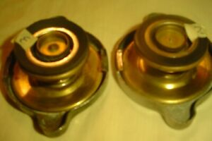 2 1950s Ac Gm Buick Caddy Olds Chevy 7lb Radiator Caps Nice Origs