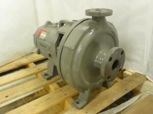 164291 Old stock Flowserve Dpe2yrb Industrial Geared Water Pump