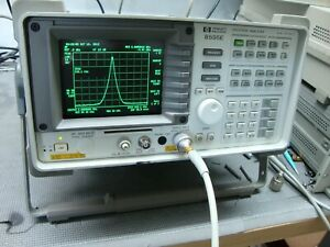 Hp Agilent 8595e Spectrum Analyzer Cal d 9 Khz To 6 5 Ghz Opts 130 119 41 4
