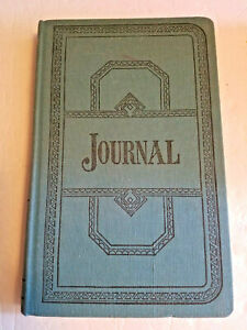 Boorum Pease 66 500 j Journal Rule Blue 500 Pages 12 1 8 X 7 5 8 New