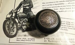 1933 Indian Worlds Fair Shift Knob Hot Rod 34 Chicago Hot Rod Chief Motorcycle