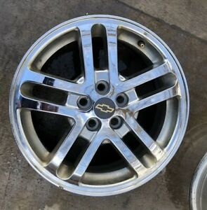 02 05 Chevy Cavalier 16 Rim 16x6 Alloy Wheel 5 Double Spoke 9595063 Factory