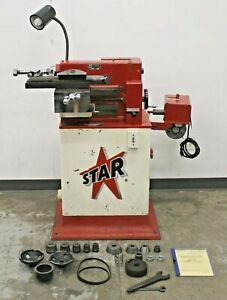 Star 1477 Disc And Drum Brake Lathe W Stand And Adapters