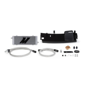Mishimoto Silver Thermostatic Oil Cooler For 2016 Ford Focus Rs