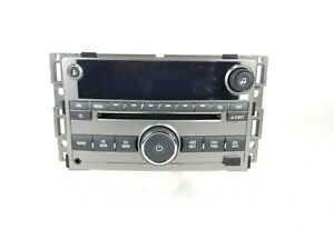 2009 2012 Chevrolet Malibu Am Fm Stereo Cd Player W Aux Part Number 20940842