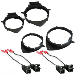2pairs Speaker Adapter Speaker Harness Compatible With Buick And Chevy 2015