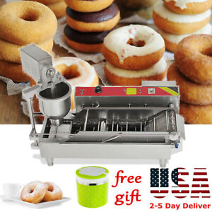 Automatic Control Commercial Donut Fryer Maker Making Machine Donut Make gift Us