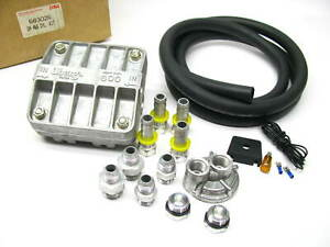 Oberg 600 Cleanable Bypass Oil Filter Kit W Hardware Fittings Hose Switch