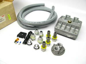 Oberg 600 Reusable Cleanable Oil Filter Complete Kit Ford Chrysler Apps