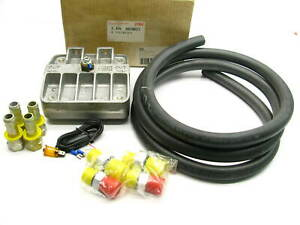 Oberg 600 Cleanable Oil Fuel Filter Kit W Hose Fittings Hose Trw 683021