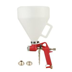 Ceiling Wall Texture Air Hopper Spray Gun Drywall Render Plaster Painting