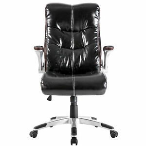 High back Office Chair Double Layered Ergonomic Executive Swivel Computer Gaming