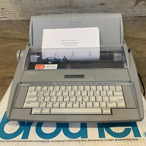 Brother Sx 4000 Daisywheel Electronic Dictionary Typewriter Mint Condition