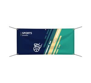 Custom Printed Sports Banner Outdoor Advertising Game Sports Team Vinyl Sign