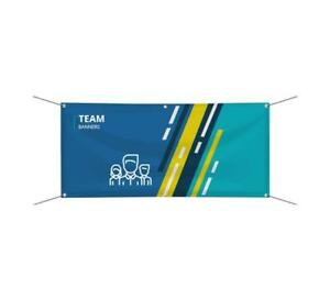 Personalized Team Banner Official Business Sports Organizations Team Vinyl Sign