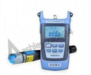 New Laser Power Fiber Optic Power Meter Cable Tester Visual Fault Locator 10mw