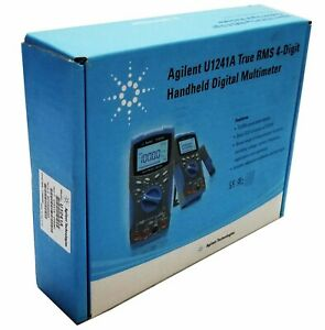 New Agilent U1241a True Rms 4 digit Handheld Digital Multimeter