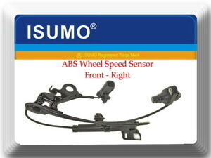 Abs Wheel Speed Sensor Front Right Fits Corolla 2009 2018 Matrix 2009 2012
