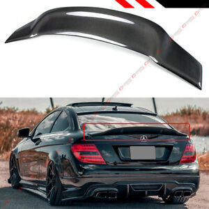 For 08 14 Mercedes Benz W204 C250 C300 Carbon Fiber Duckbill Trunk Spoiler Wing
