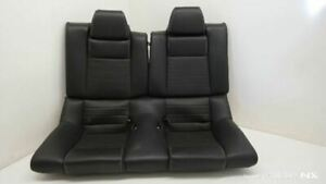 2010 2014 Ford Mustang Rear Seat Leather Black