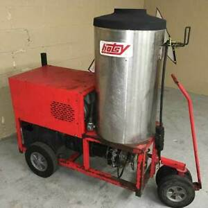 Used Hotsy 980ss Hot Water 1 Ph Diesel 4gpm 2000psi Pressure Washer