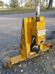 Berkley Tools 4854 Groove ridge Roll Machine See The Listed Picture s