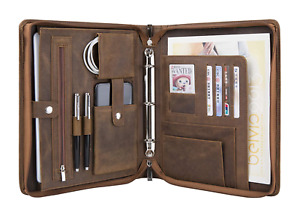 Professional Portfolio With A5 sized 3 ring Binder Business Padfolio Case