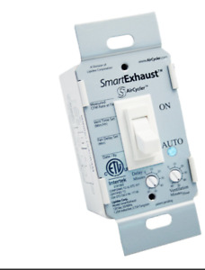 Aircycler Smartexhaust Toggle Switch White Se1 w