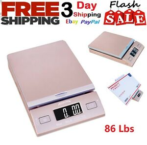 Digital Weight Scale 86 Lbs Electronic Postage Mail Lot Package Weighing Scales