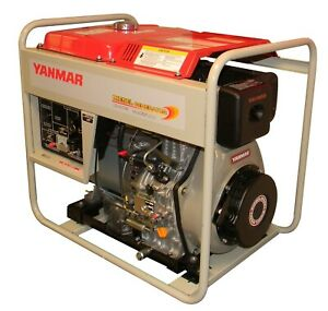 6kw Yanmar Air Cooled Diesel Generator