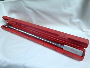 Snap on 1 2 Drive Qd3r250 Torque Wrench Ycp 20785 11