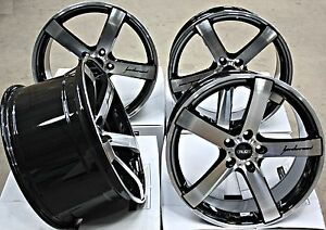 19 Cruize Blade Alloy Wheels Staggered Deep Concave 5x120 19 Inch Alloys