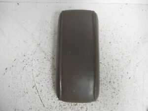 1998 Toyota 4 Runner Center Console Lid Brown Leather P4243