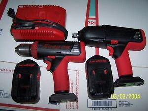 Snap On 6850 Cordless 18v Drill Impact Used 50