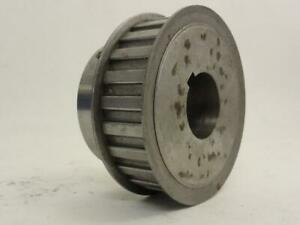 152616 Used Browning 24h100 Timing Belt Pulley 24t 1 2 Pitch 1 3 8 Id