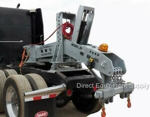 Model 20 Super Duty Portable Fifth Wheel Wrecker Boom For Semi Truck Towing