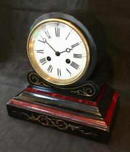 Antique Clock French 8 Day Movement