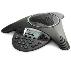 Polycom 2200 15660 001 Soundstation Ip 6000 Corded Conference Voip Phone New