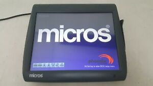 Micros Workstation 5a Touchscreen Pos Terminal 400814 101