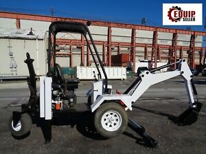 Go For Digger Gf6lm Wheel Mini Excavator Tow Behind