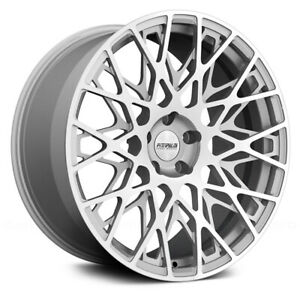 Fittipaldi Fsf08 Ms 20x9 5x120 Et 35 Mach Face gloss Silver Accents qty Of 1