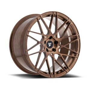 Fittipaldi Fsf03 Bz 20x9 5x114 3 Et 35 Brushed With Gloss Bronze Tint qty Of 1