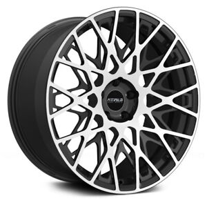 Fittipaldi Fsf08 Mb 20x9 5x120 Et 35 Mach Face gloss Black Accents qty Of 1
