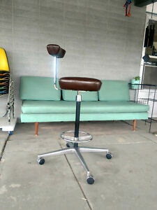 Perch Drafting Stool By George Nelson For Herman Miller Chair Mcm Midcentury