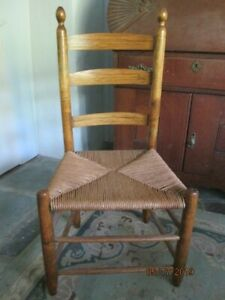 Pleasant Antique Ladder Back Chairs For Sale Interior Design Ideas Inamawefileorg