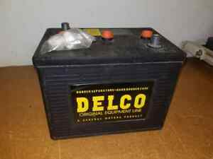New Reproduction Gm Delco G2 6 volt Battery Free Shipping