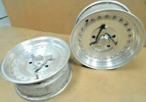 Centerline Auto Drag Wheels 14 X 6 4 3 4 Gm Bolt Circle 3 1 2 Bs Pair