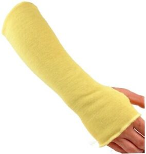 G And F Products Kevlar 18 In Knit Cut Resistant Sleeve With Thumb Slot