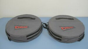 Pair Of Drive 2 Turntables Turn Plates Turn Wheels With Carry Cases